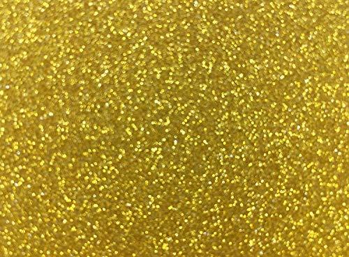 10 Blatt Glitzer Papier Glänzend Bastelpapier A4 Farbiges Tonpapier Sortiert Glitzer Karte Glitterkarton Patchwork Bling-Bling Karton für DIY Handwerk Scrapbooking Gelb