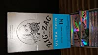 Zig Zag Ultra Thin Cigarette Rolling Papers, 1 1/6 by Zig Zag