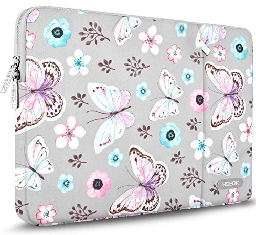 Hseok 15.6-Inch Laptop Case Sleeve, Spill-Resistant Case for 15.4-Inch MacBook Pro 2012 A1286, MacBook Pro Retina 2012-2015 A1398 and Most 15.6-Inch Laptop,Butterfly
