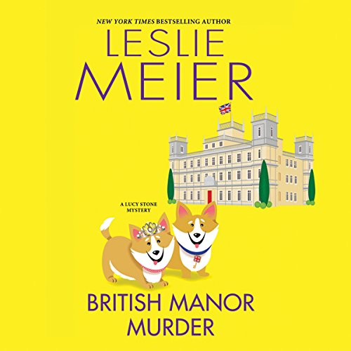 British Manor Murder audiobook cover art
