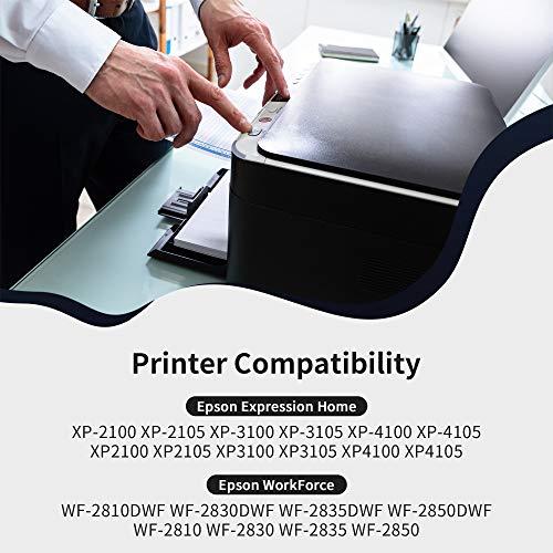 IKONG 603 XL Cartuchos de Tinta para Epson 603XL Compatible con Epson Expression Home XP-2100 XP-2105 XP-3100 XP-3105 XP-4100 XP-4105 WorkForce WF-2810DWF WF-2830DWF WF-2835DWF WF-2850DWF