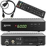 anadol HD 202C Digital Full HD Receptor de televisión por cable (HDTV, DVB-C/C2, HDMI, SCART,...