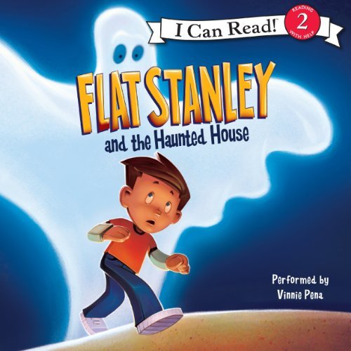 Flat Stanley and the Haunted House audiobook cover art
