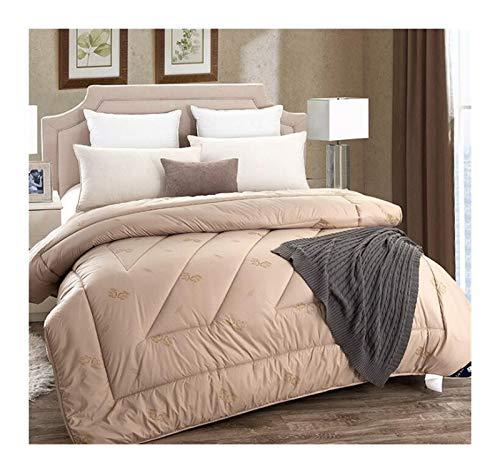Without Winter dekbed 220 * 240 Kamelwolle Decke 200 * 230 Doppel Königin König Duvets Sommer Quilts (Color : 1, Size : 200x230cm 2kg)