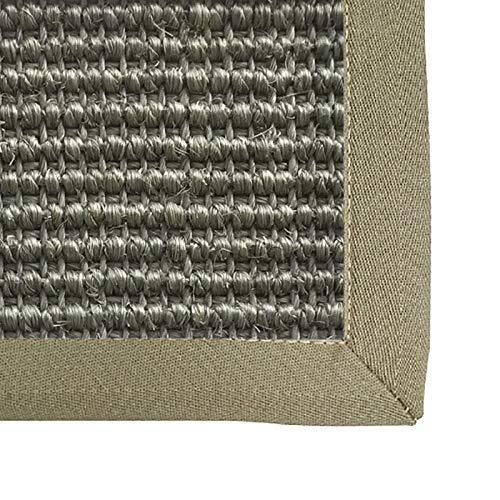 WHAOYEROK Tappeto Seagrass Intrecciato Anti Scivolo Facile da Pulire Materasso Tatami per Iscrizione Ufficio Interno Ingresso Tappetino Giapponese, Personalizzabile (Color : B, Size : 100x200cm)