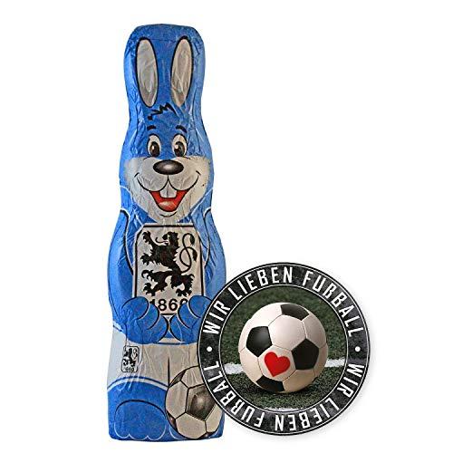 Premium Schoko-Adventskalender Mannschaftsposter je nach Verein TSV 1860 M/ünchen Der lustige Weihnachts-Countdown aus Fairtrade-Kakao ggf Fan-Sticker Fanshop-Gutschein ggf 200 g