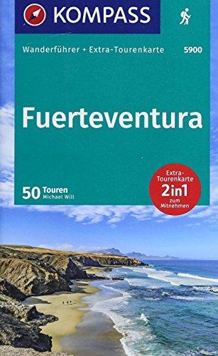 KOMPASS Wanderführer Fuerteventura: Wanderführer mit Extra-Tourenkarte 1:60.000, 50 Touren, GPX-Daten zum Download.
