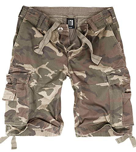 BW-ONLINE-SHOP Vintage Shorts Light Woodland - XL