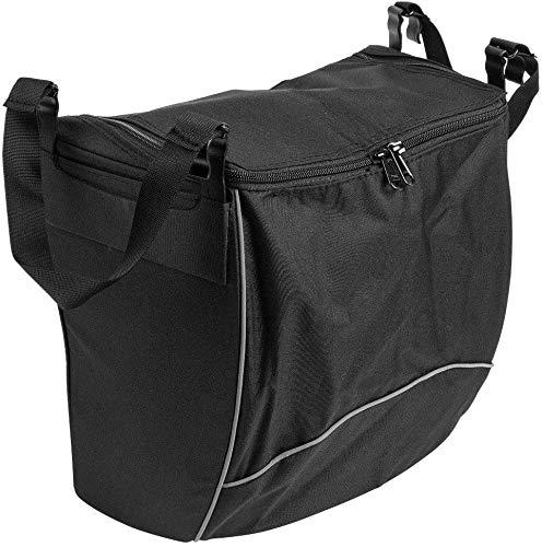 FabaCare Rollatortasche für Leopard, Gepard und Tiger, Tasche mit Reißverschluss, Einkaufstasche für Rollator