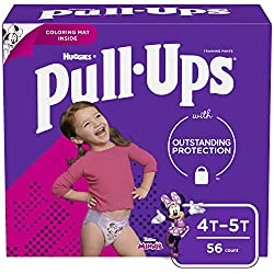 Best Pull Up Diapers - Pull-Ups Learning Designs Training Pants for Girls