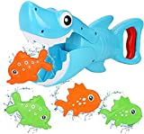 GLOBAL IGO IGO Global Jouets de Bain bébé, Shark Grabber Baignoire Baignoire Toy Toy Toy Toy Toy, Jouet de Bain de Shark Jouet pour 3 Ans et Plus Toddlers Enfants, Bleu (Color : Model B )