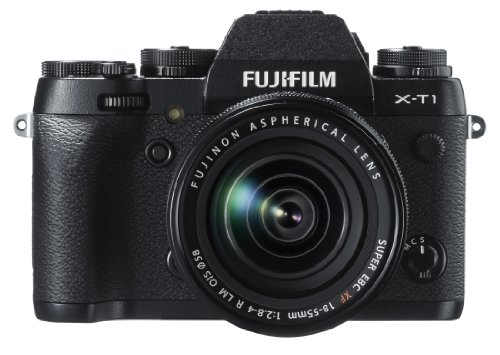 Fujifilm X-T1 16 MP Mirrorless Digital Camera with 3.0-Inch LCD and XF18-55mm F2.8-4.0 R LM OIS Lens (Old Model)