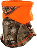 Zeek Outfitter Blaze Orange Neck Gaiter for Hunting | Realtree Neck Gaiter Face Mask for Men | Safety Orange Camouflage | Realtree Edge Camo Clothing (Realtree Edge)