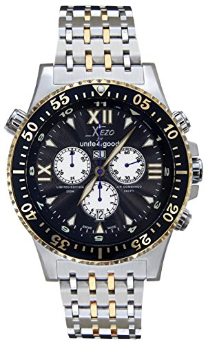 Xezo Air Commando orologio cronografo subacqueo svizzero da uomo, con...