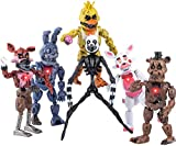 Inspired by Five Nights at Freddy's | Set of 6 pcs | Action Figures Toys Dolls | Xmas Gifts Cake Toppers | Christmas Toys Gifts (6) (6)
