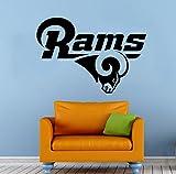 Los Angeles Rams Wall Vinyl Decal Sticker NFL Emblem Football Team Logo Sport Poster Home Interior Removable Decor