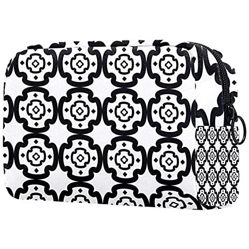 Bolsa de almacenamiento cosmético multifuncional para mujeres y niñas, bolsa de aseo lindo y portátil para viajes, Multicolor4, 18.5x7.5x13cm/7.3x3x5.1in, moderno