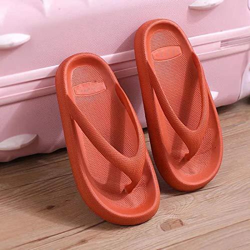 Zapatillas De Estar Dormitorio Cuñas De Plataforma De Fondo Grueso Mar Flip-Flop Sandalias De Dedo Zapatos De Verano Zapatillas De Baño Suaves Diapositivas Zapatos De Interior Entrega Rápida Gratuita