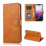 HHF Téléphone Portables Accessoires pour Huawei P20 Lite P20 P30 Pro, en Cuir de Luxe...