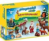"""Playmobil 1.2.3 """"Waldweihnacht"""" - 5497 - Adventskalender - 2014"""