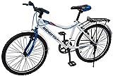 Benotto MRHSTR2401UNBL Bicicleta de Acero Rodada R24, Hombre, Frenos V, 1 Velocidad