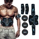 Kuman Electroestimulador Muscular Abdominales Cinturón,Masajeador...