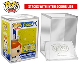 POP STACKS - The #1 Selling Hard Plastic Protector Case for Regular Size Pop Boxed Figures