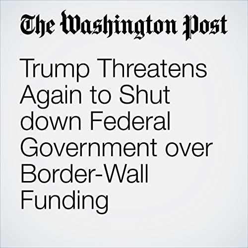 Trump Threatens Again to Shut down Federal Government over Border-Wall Funding copertina