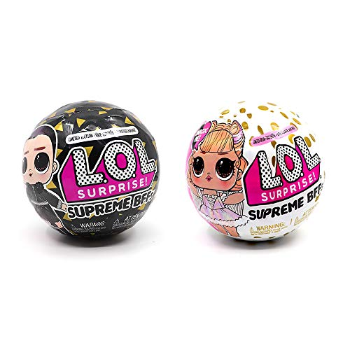 L.O.L. サプライズ! シュプリーム BFFs 限定版 2PACK L.O.L SURPRISE! SUPREME BFFs(Best Friend Forever) ...