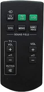HCDZ Replacement Remote Control for Sony RM-ANU102 SA-32SE1 SA-40SE1 SA-46SE1 All-in-One Soundbar System