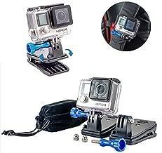 Nomadic Gear Backpack Clip mount with 360' Rotary Mount + Metallic Screws for GoPro Hero 6/ Hero5 / Hero4 / Hero 3+ Cameras| Universal Support for GoPro, SJCAM, XIAOMI