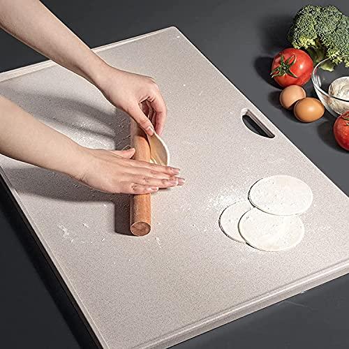 MNSSRN Tabla de Cortar para el hogar, Gran Tabla de Cortar, Material de Corte de Materiales, Tabla de Cortar de Frutas de laminación y Corte