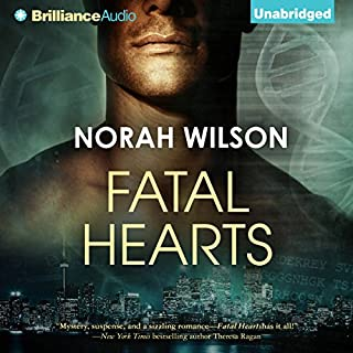 Fatal Hearts audiobook cover art