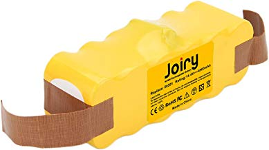 Joiry 14.4V 4.8Ah Ni-MHBatería para iRobot Roomba 500 600 700 800 Series 510 530 532 534 535 540 550 610 700 760 770 780 800 900 980 560 562 570 580 600 R3 Robotic Vaccums Compatible Con 80501