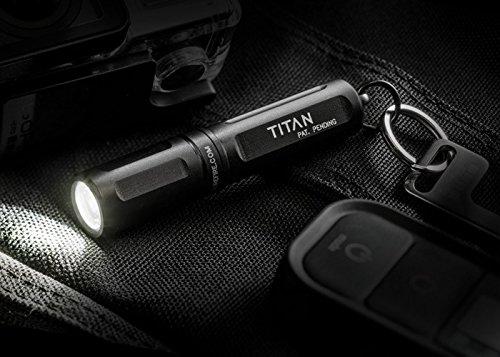 SureFire(シュアファイア)Titan超コンパクトLEDキーチェーンライトシリーズブラック