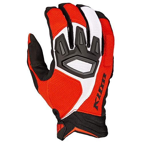 Klim Dakar Motocross Handschuhe Rot M