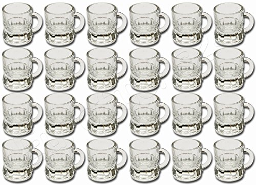 Diverse 24 x Pinneken Schnapsgläser Schnapsglas Glas 2 cl Trinkglas Schnapskrug Humpen
