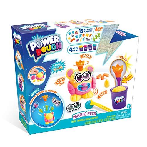 Canal Toys Power Dough Magic Pets Box Interactive Dough (24Piece)