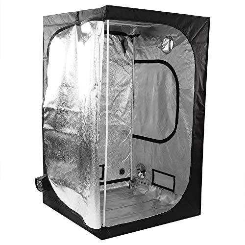 Estink - Tienda de cultivo interior Grow Tent/Grow Box/Armario Indoor Cultura/Armario Grow hidróponico, tejido Oxford 600D, para interiores (120 x 120 x 200 cm)