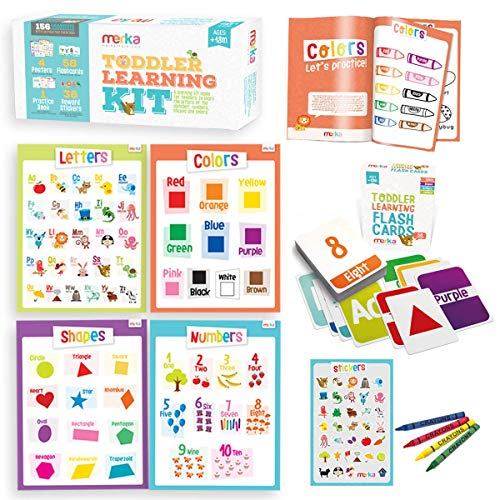 Toddler Learning Kit Posters Flashcards Practice Book Now $11.27 (Was $24.99)