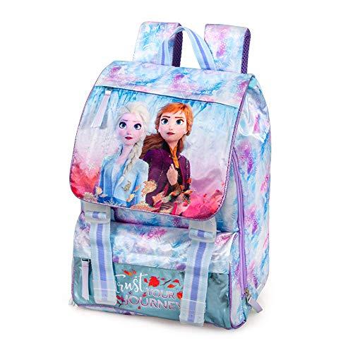 Zaino Estensibile Frozen II Scuola Borsa Tempo Libero CM.41x31x20-51412