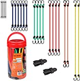 Cartman Bungee Cords 16pcs, with Steel Hook