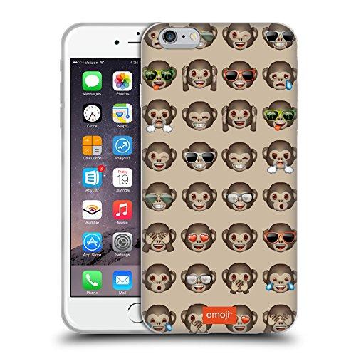 Head Case Designs Licenciado Oficialmente Emoji Mono Patrones 3 Carcasa de Gel de Silicona Compatible con Apple iPhone 6 Plus/iPhone 6s Plus