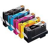 【Amazon.co.jp限定】エコリカ キャノン(Canon)対応 リサイクル インクカートリッジ 5色マルチパック BCI-7e+9/5MP EC-C7E+9/5A (FFP・封筒パッケージ)