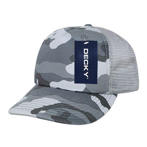 DECKY Camo Foam Trucker Cap, Urban Grey