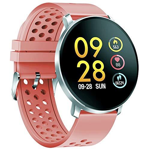 Denver SW-171, rosa, Smartwatch, silbern, IPS, 3,3 cm (1,3 Zoll), SW-171, rosa, 3,3 cm (1,3 Zoll), IPS, Touchscreen, 240 h, 100 g, Silber