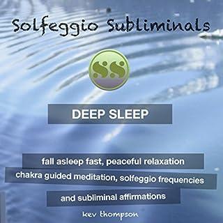 Deep Sleep, Fall Asleep Fast, Peaceful Relaxation audiobook cover art