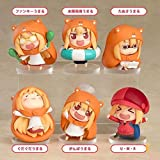 KaiWenLi Himouto! Umaru-chan/DOMA Umaru Q Version Different Shapes 6 Pieces/Animation Character Model/PVC Figure Figurine/Best Collection/Decoration/Adult Toy