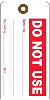 Production Quality Control Tags (100 per Order) (Do Not Use)