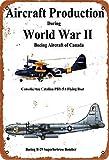 GenericBrands Aircraft Production World War II Pby-Sa B-29 Cartel de Hierro...
